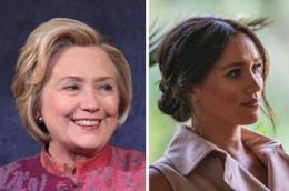 Hillary Clinton e Meghan Markle