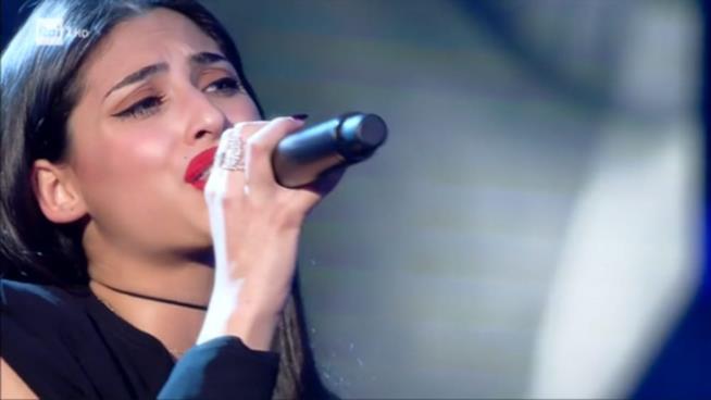 Alice Caioli al momento prima tra i Giovani di Sanremo 2018