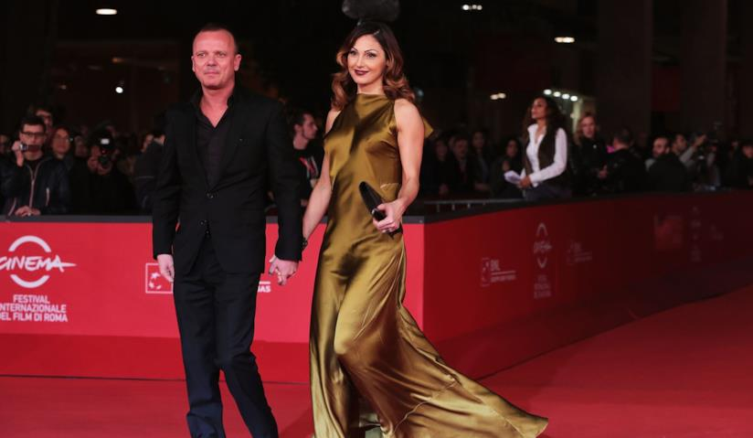 Gigi D'Alessio e Anna Tatangelo sul red carpet