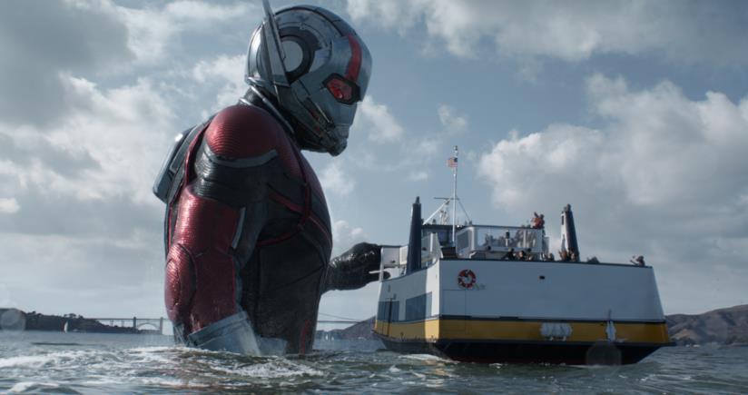 Una scena di Ant-Man and the Wasp