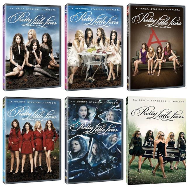 Cofanetti DVD di Pretty Little Liars - Stagioni 1-6