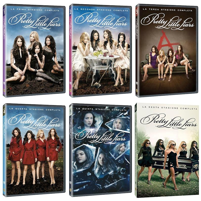 DVD di Pretty Little Liars - Stagioni 1-6