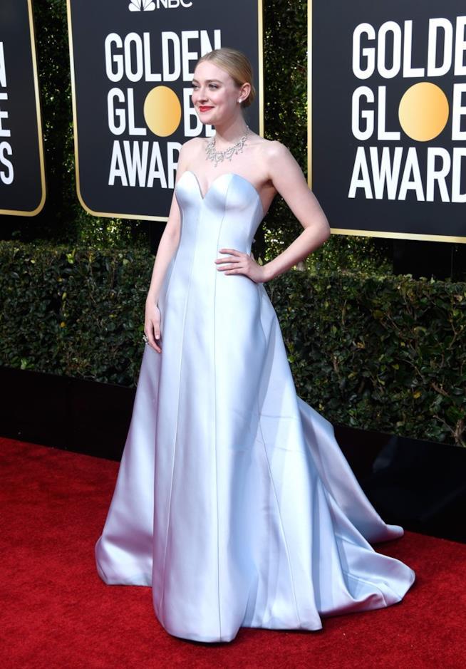 Dakota Fanning ai Golden Globes