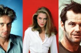 Kathleen Turner, Michael Douglas, Jack Nicholson