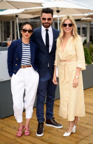 Sienna Miller, Dominic Cooper e Ruth Negga a Wimbledon
