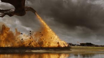 Una scena della settima stagione de Il trono di spade