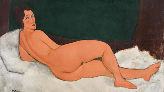 Un dipinto di nudo di Amedeo Modigliani