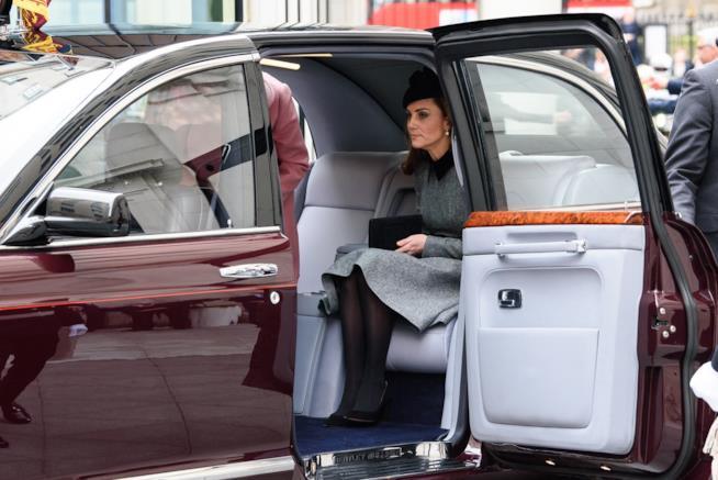 Kate Middleton e la Regina a un evento ufficiale