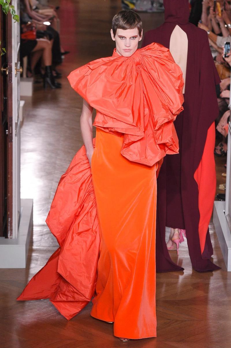 Sfilata VALENTINO Collezione Alta moda Autunno Inverno 19/20 Parigi - ISI_4108