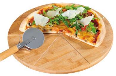 Tagliere rotondo per pizza