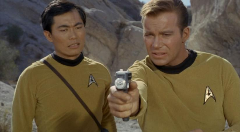 James Tiberius Kirk e Hikaru Sulu di Star Trek