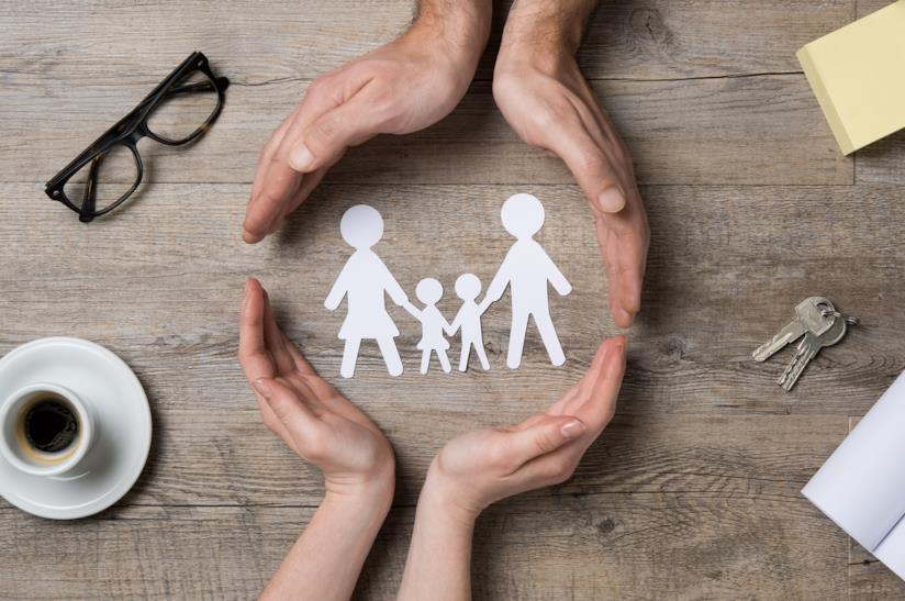 Assistenza famiglia con figli