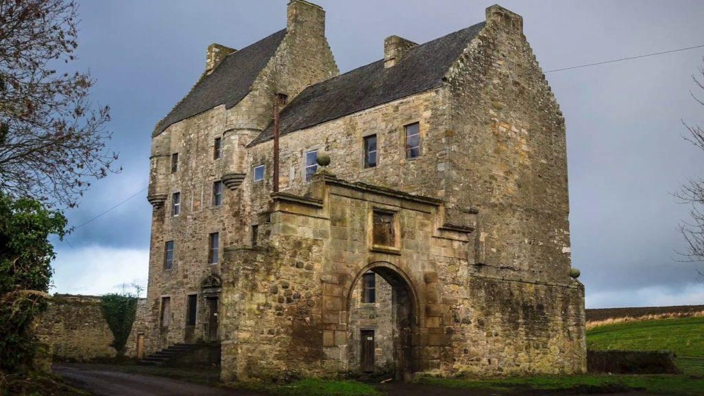 L'antica tenuta Fraser in Outlander