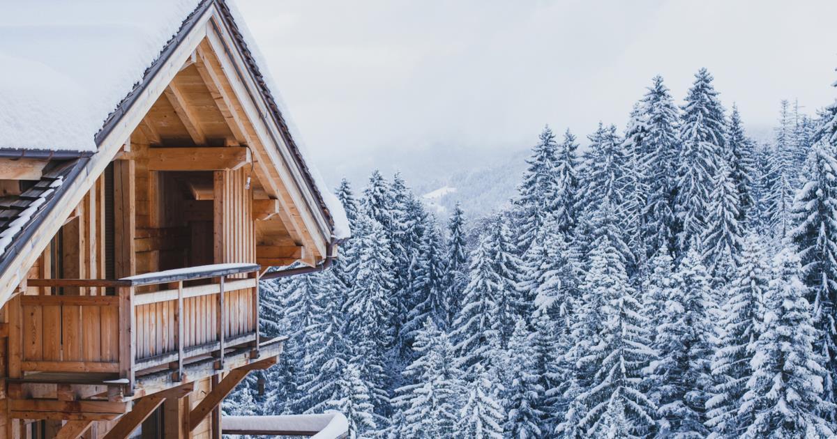 Soluzioni per arredare una casa di montagna in stile sobrio e contemporaneo - Arredare una casa in montagna ...