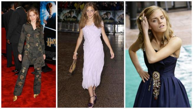 I primi look di Emma Watson sul tappeto rosso