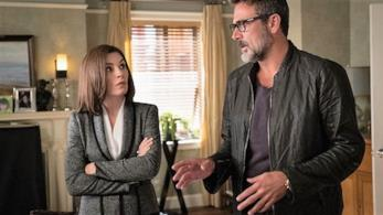 Gli attori Julianna Margulies e Jeffrey Dean Morgan The Good Wife