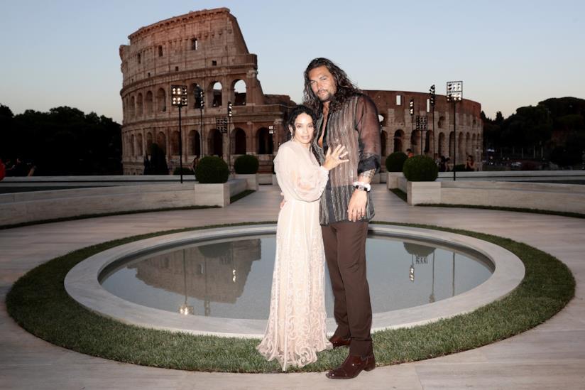 Jason Momoa e Lisa Bonet