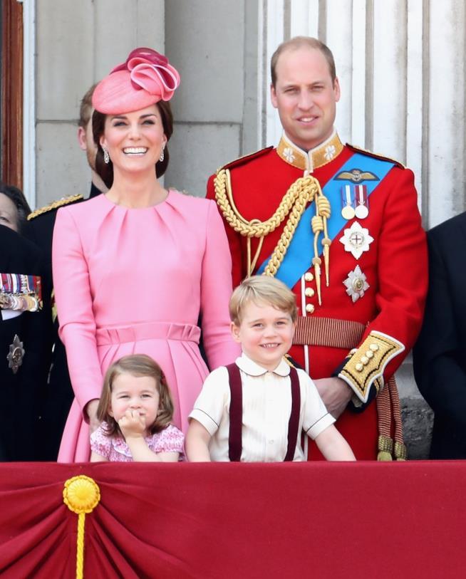 Kate e William con i loro due figli