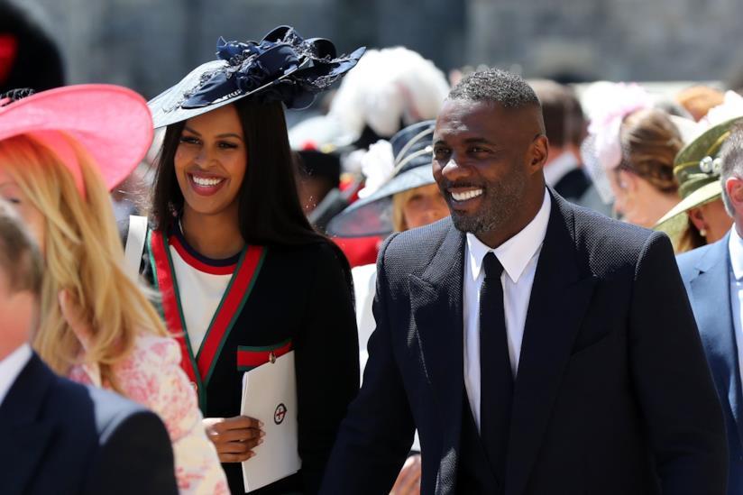Idris Elba e la terza moglie Sabrina