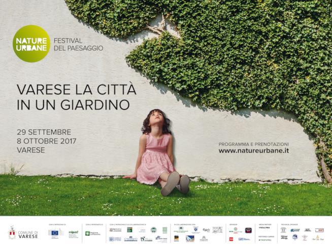 La locandina del Festival Nature Urbane di Varese