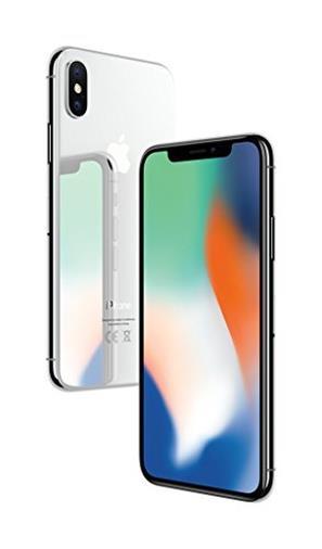 Apple iPhone X (64GB) - Argento