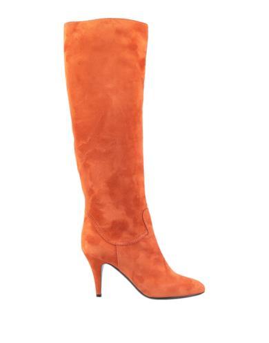 Stivali ruggine con il tacco a stiletto