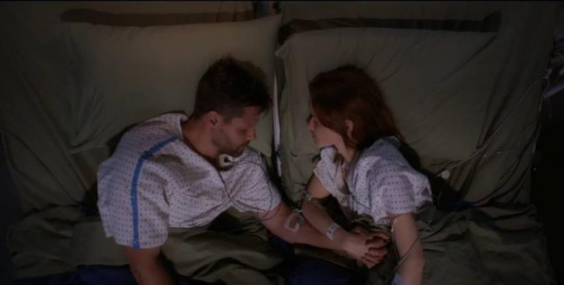 April e Matthew in Grey's Anatomy