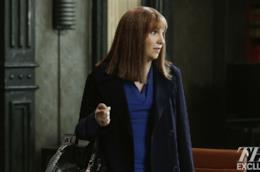 Lena Dunham arriva in Scandal