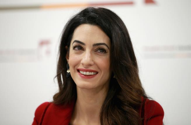 L'avvocatessa Amal Clooney