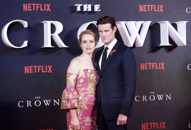 Matt Smith e Claire Foy