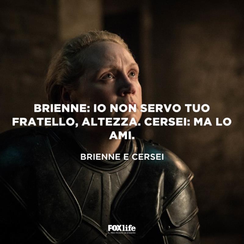 Brienne in ginocchio