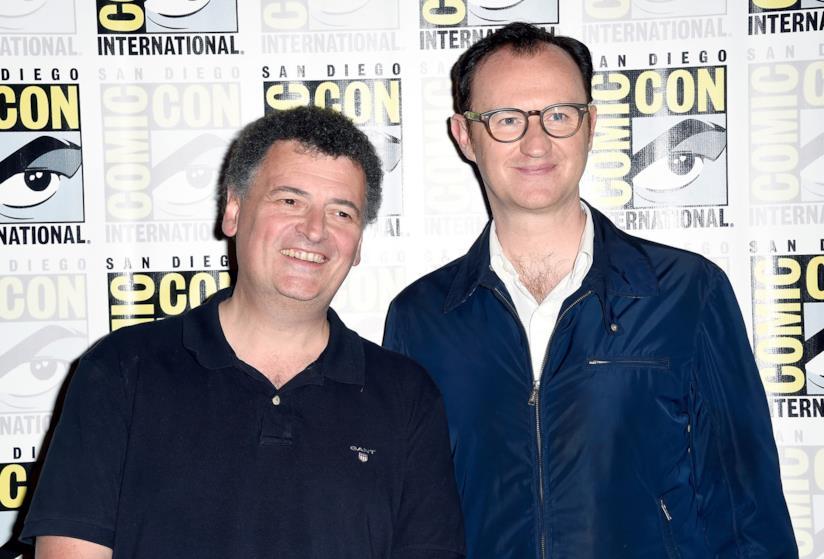 I creatori di Sherlock Steven Moffat e Mark Gatiss