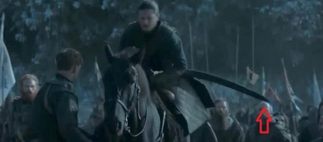 Jon Snow a cavallo