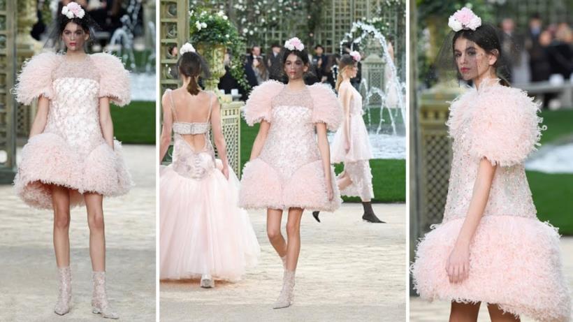 Abiti da sposa rosa di Chanel