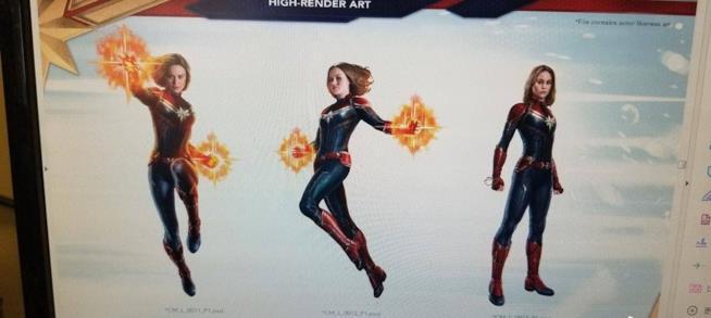 Captain Marvel promo art