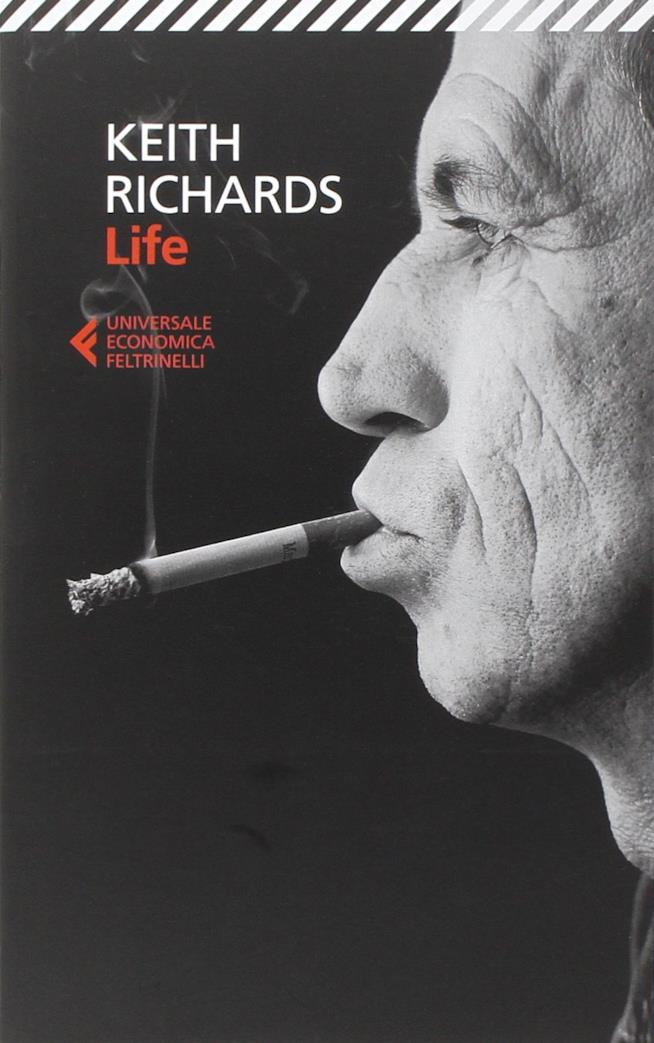 Life autobiografia del chitarrista Keith Richards