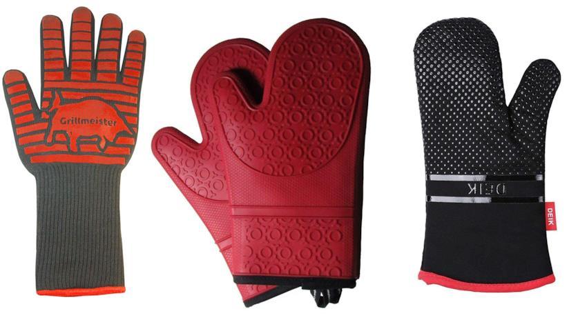 La classifica dei migliori guanti per il forno e per il barbecue
