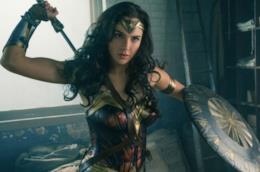 L'attrice Gal Gadot in un'immagine del film Wonder Woman di Patty Jenkins