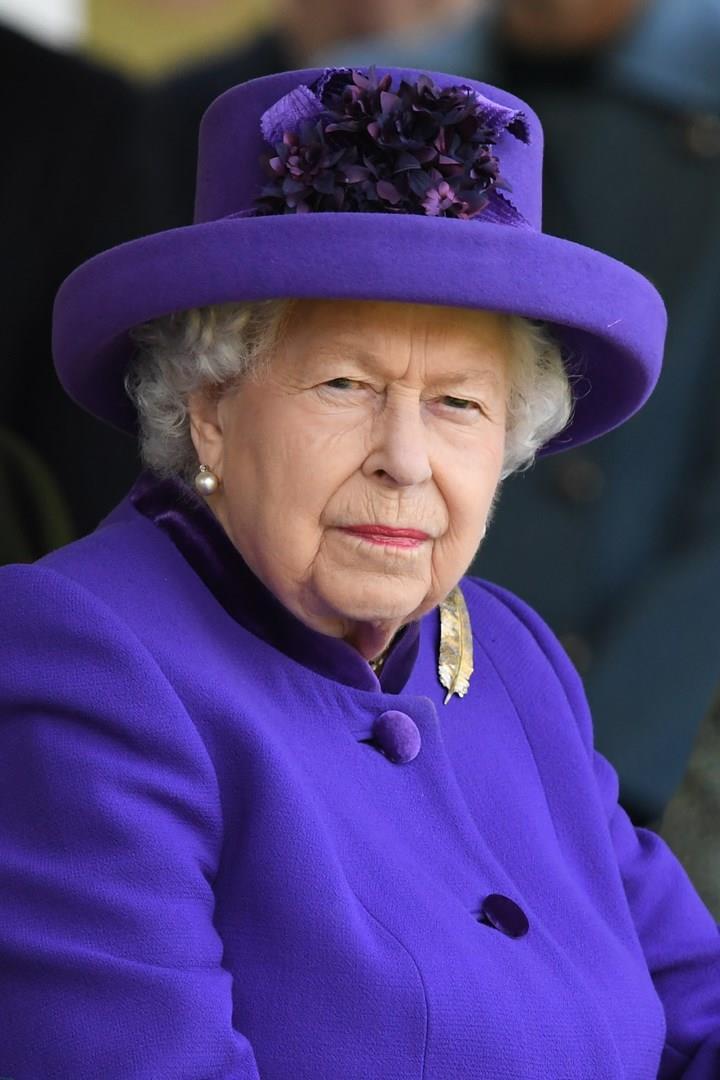 Regina Elisabetta in primo piano