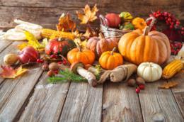 Verdura di stagione a ottobre