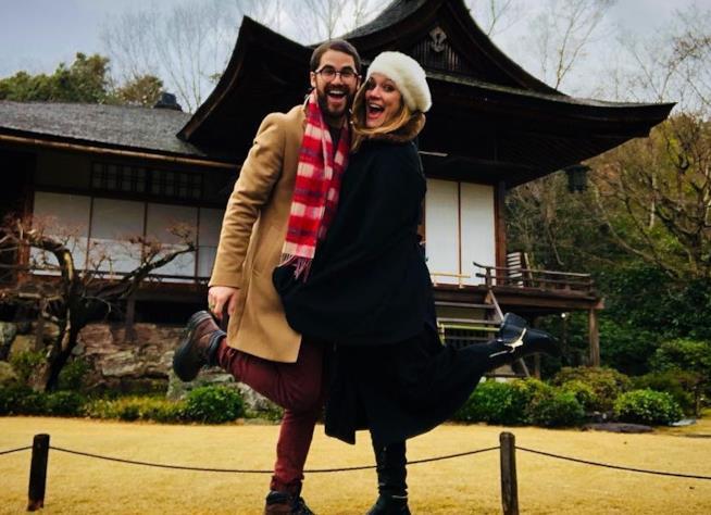 L'attore Darren Criss e la fidanzata Mia Swier