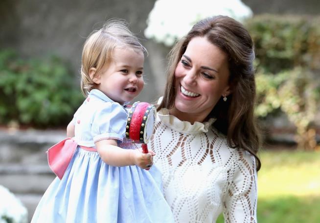 Kate Middleton con la figlia Charlotte