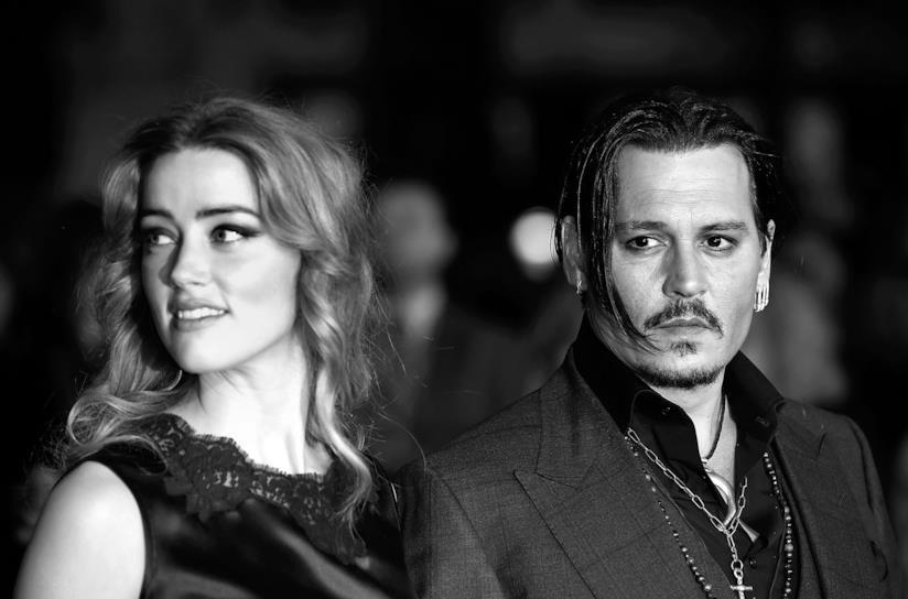Johnny Depp insieme ad Amber Heard