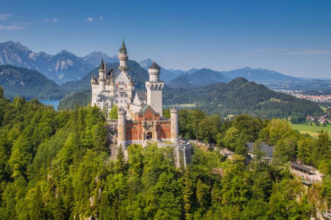 Castello di Schloss Neuschwanstein