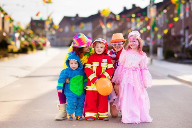 Bambini a carnevale