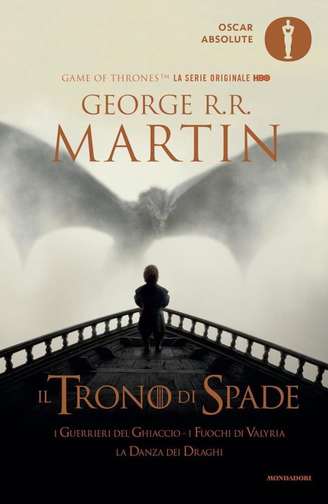 Copertina del quinto volume del Trono di Spade