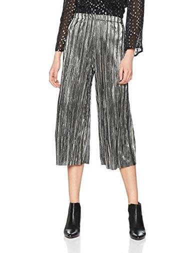 Cropped pants argento