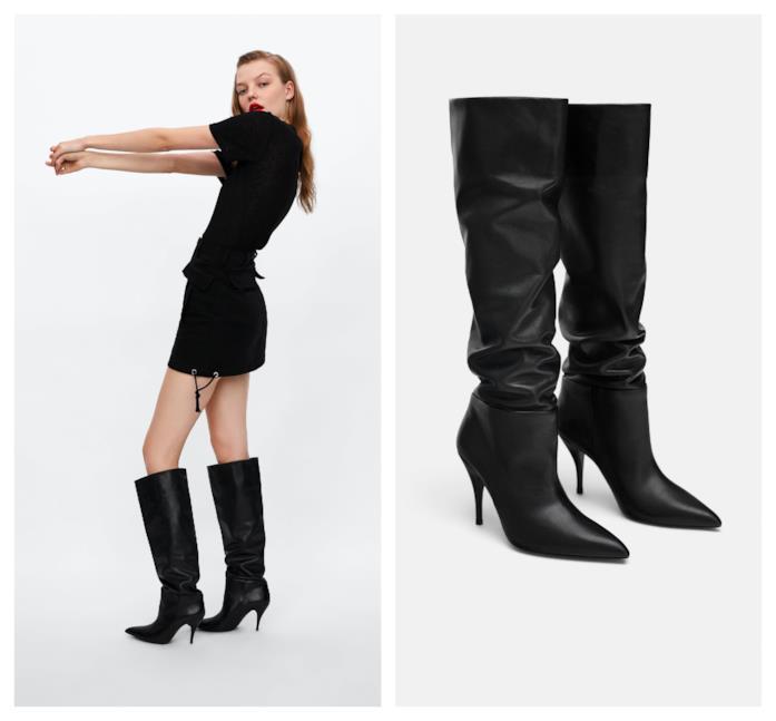 Stivali con il tacco di moda per l'A/I 2018