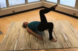 Un esercizio per tonificare il proprio corpo