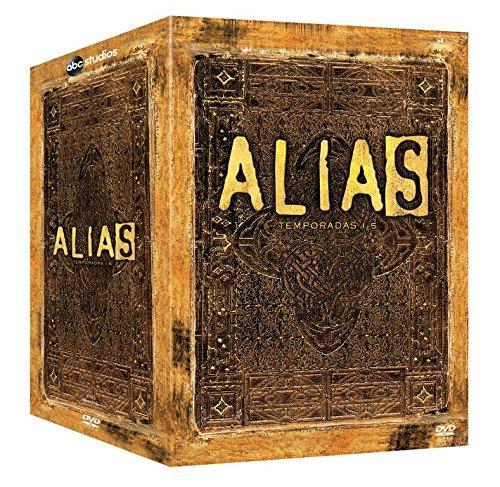 Cofanetto DVD di Alias stagioni 1-5